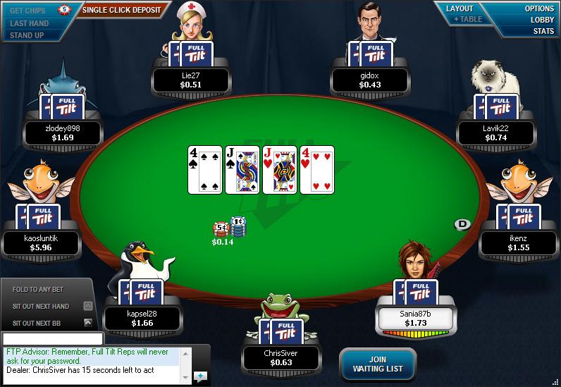 Full tilt poker am mac.